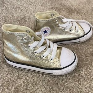 Toddler Gold Converse